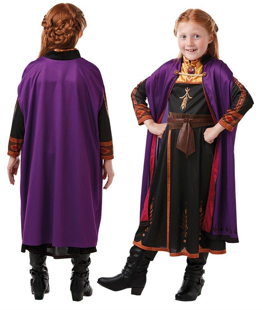 Frozen - Anna Travel Dress - Childrens Costume (Size 116)