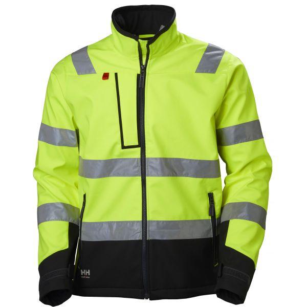 Helly Hansen Workwear Alna Softshelljacka varsel, gul/svart Strl S