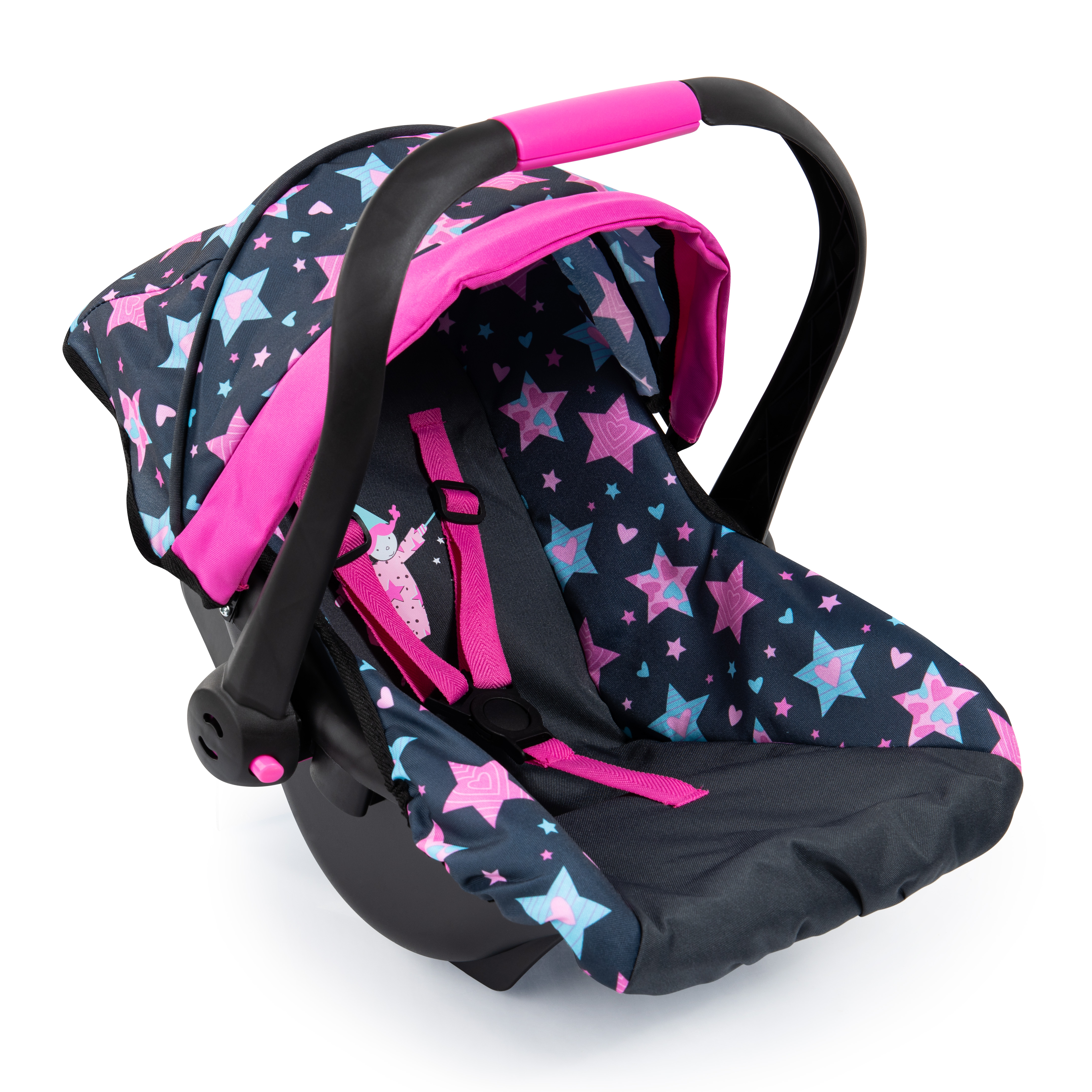 Bayer - Deluxe Car Seat for Dolls - Stars (67906AA)