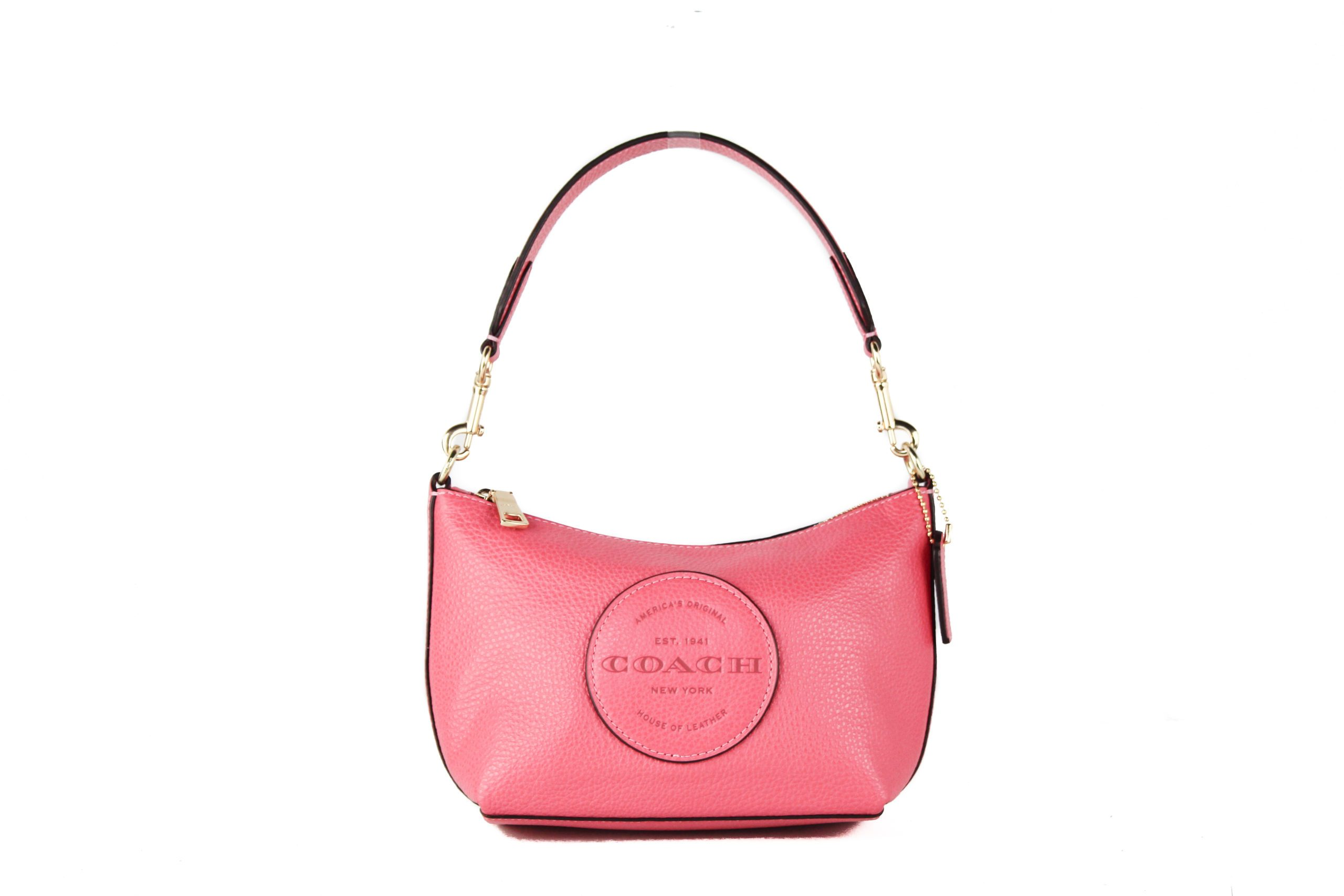 COACH Women's Dempsey Shoulder Bag Fuchsia 87841