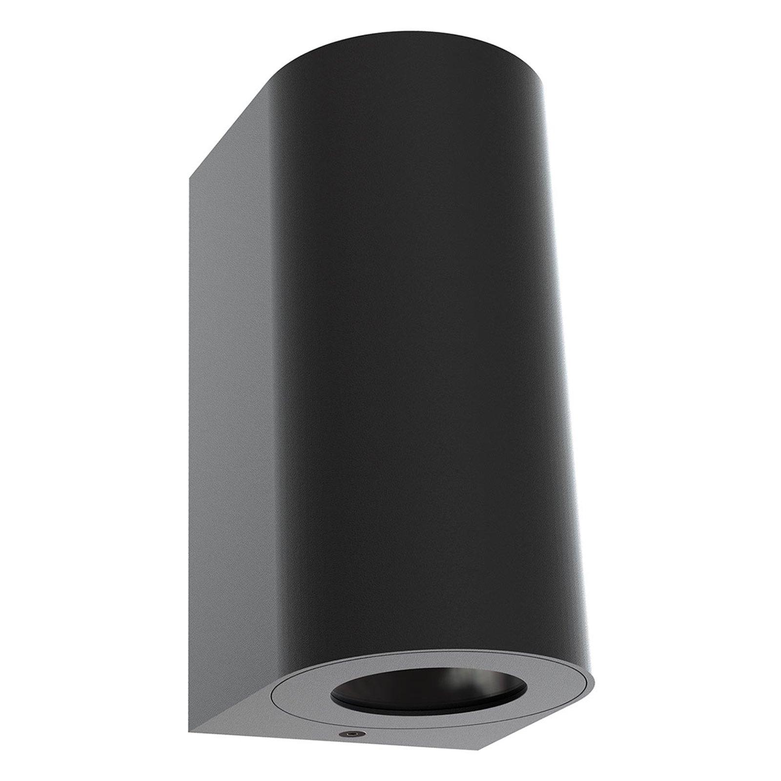 Utendørs vegglampe Canto Maxi 2, svart