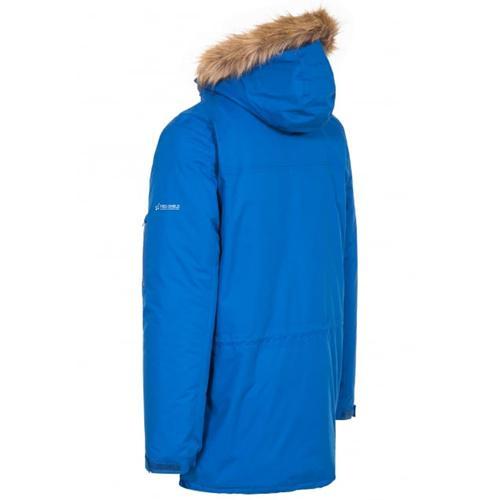 Trespass Unisex Waterproof Parka Jacket Various Colours Jaydin - Blue S