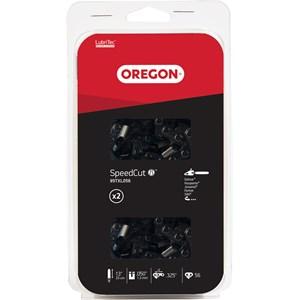 """Motorsågskedja Oregon 15"""" .325 1,3 mm 64, 2-pack"""