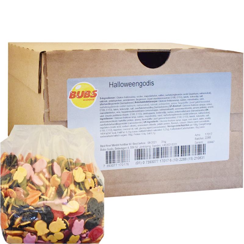 Halloween Makeissekoitus 3kg - 50% alennus