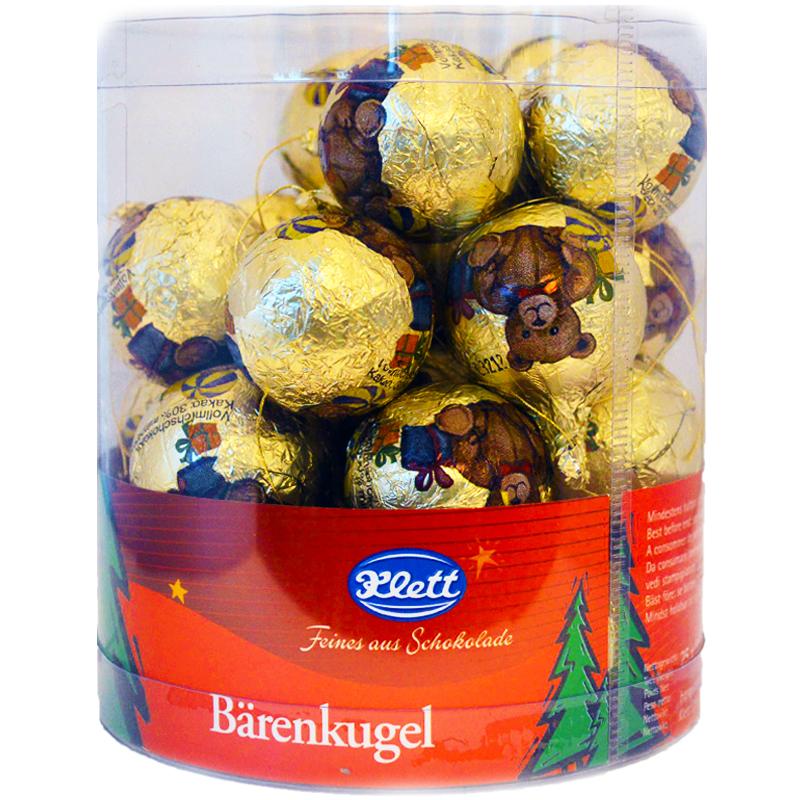 Julkulor Choklad Guld - 44% rabatt