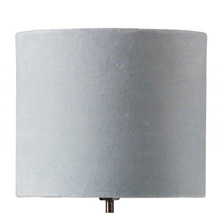 Sanna 28 cm lampeskjerm - Silver