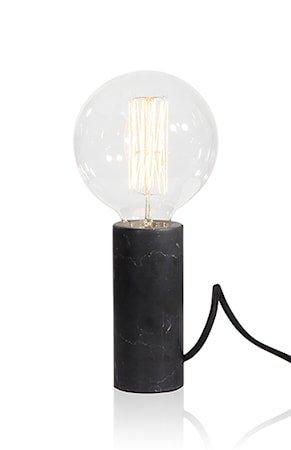 Bordlampe Marble Svart