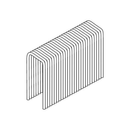 ESSVE PZ16 Hakanen 2000 kpl:n pakkaus 11x32 mm