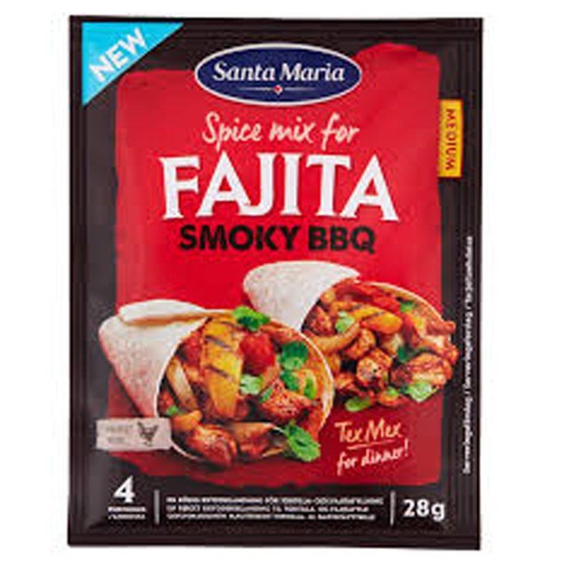 "Mausteseos ""Fajita Smoky BBQ"" 28g - 29% alennus"