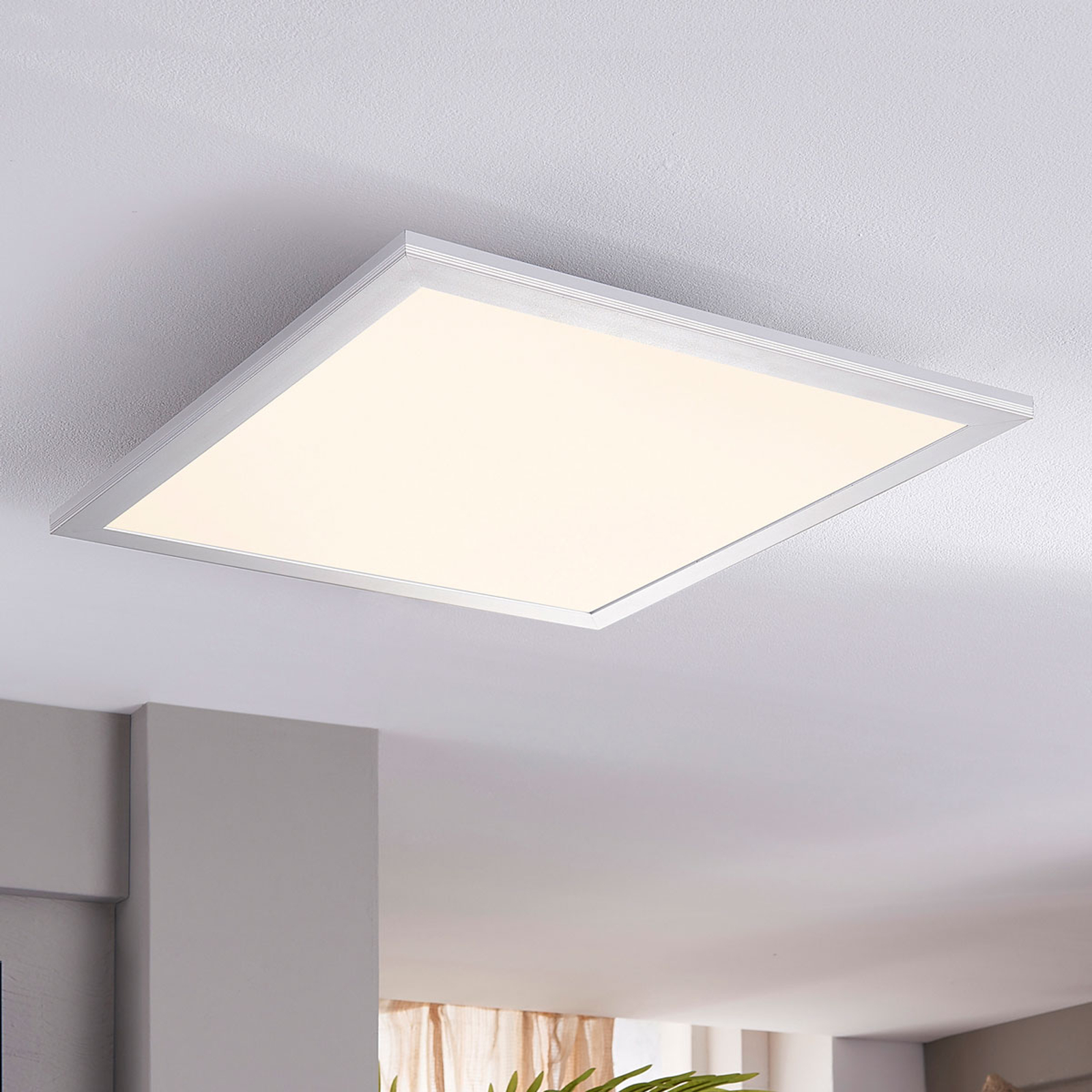 Lindby Livel -LED-paneeli, 4 000 K, 40 cm x 40 cm