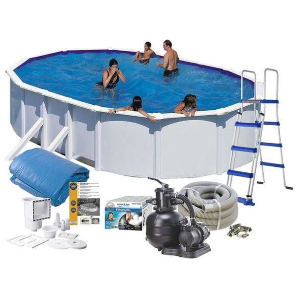 Swim & Fun 2703 Allaspaketti 5 x 3 x 1,2 m, 14,550 l