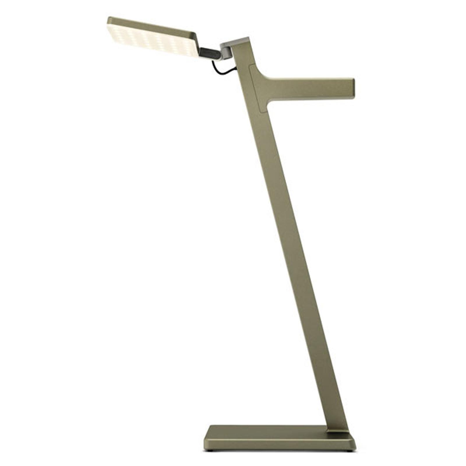 Nimbus Roxxane Leggera LED-pöytävalaisin, pronssi