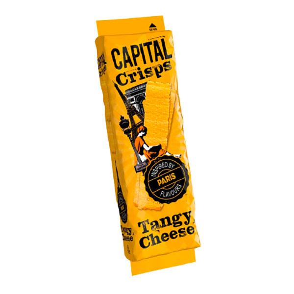 Capital Crisps Paris Tangy Cheese 75g