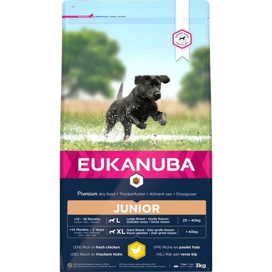 Eukanuba Dog Junior Large Breed (3 kg)