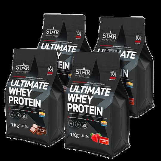 Ultimate Whey Mix&Match, 4x1kg