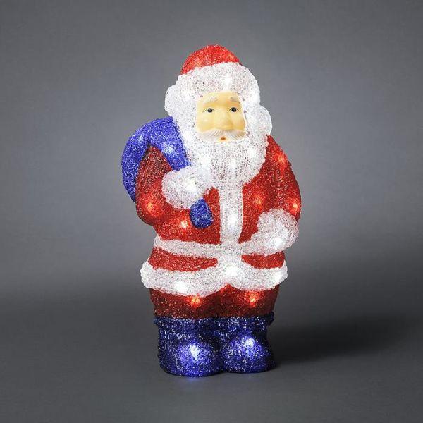 Konstsmide 6153-203 Koristevalaisin joulupukki