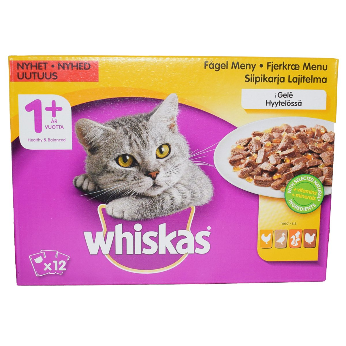Kissanruoka Lintulajitelma - 24% alennus