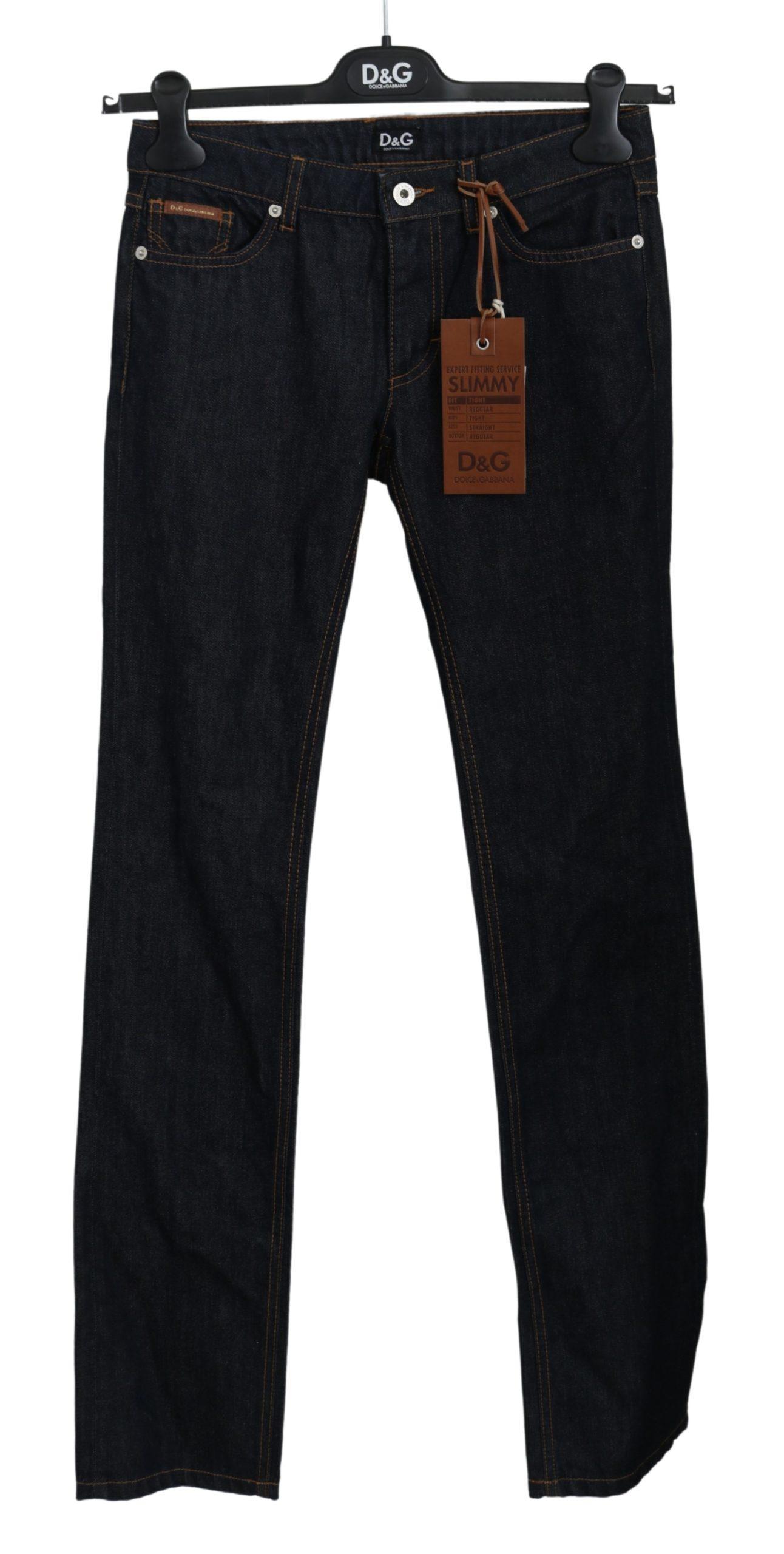 Dolce & Gabbana Women's SLIMMY Tight Cotton Jeans BYX1345 - W24