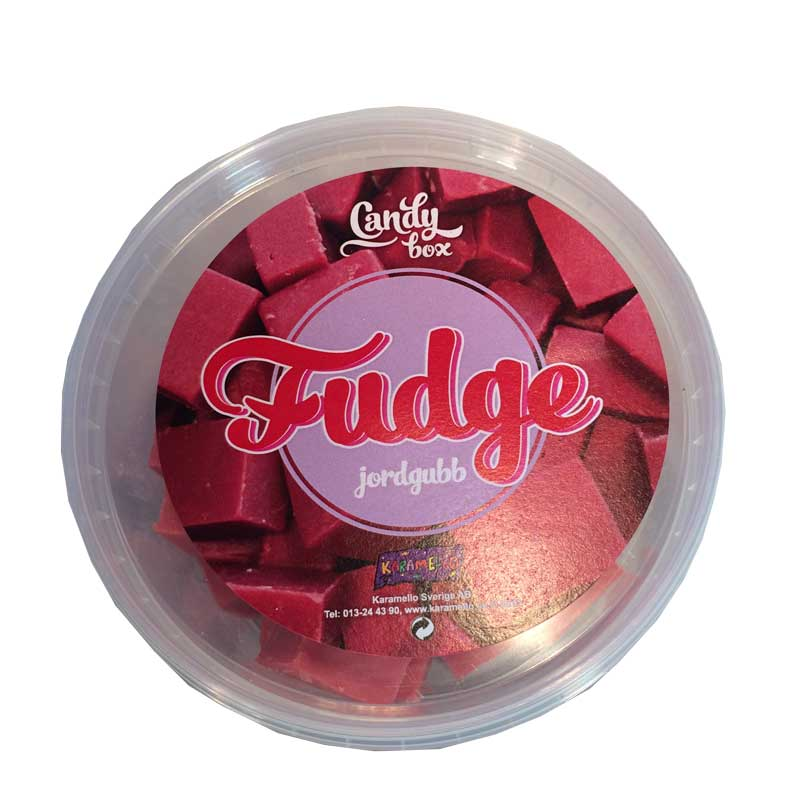 Fudge Jordgubb - 60% rabatt