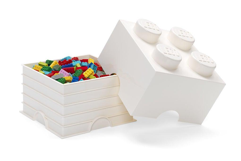 LEGO Säilytyslaatikko 4, Valkoinen