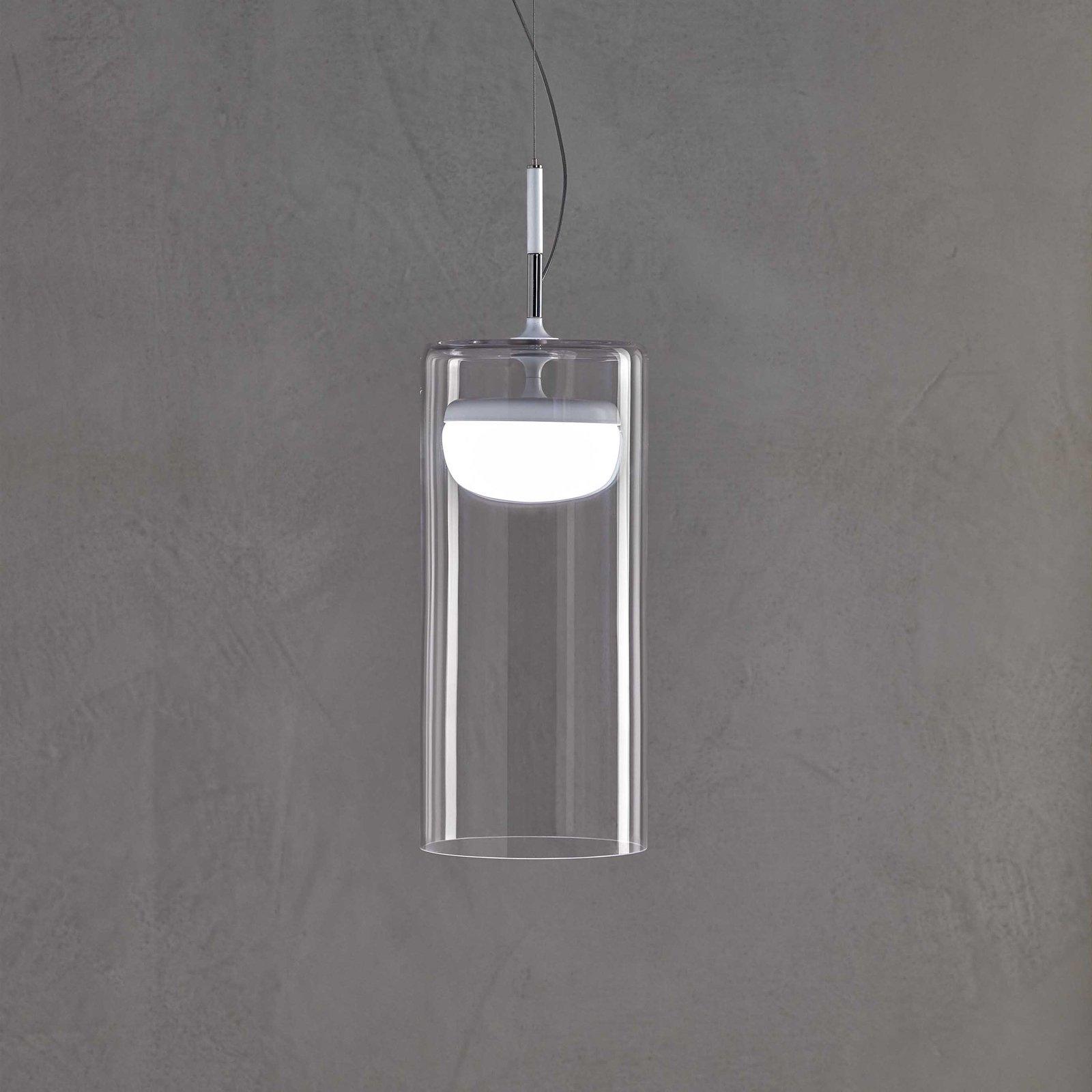 Prandina Driver LED-hengelampe S5 2 700 K hvit