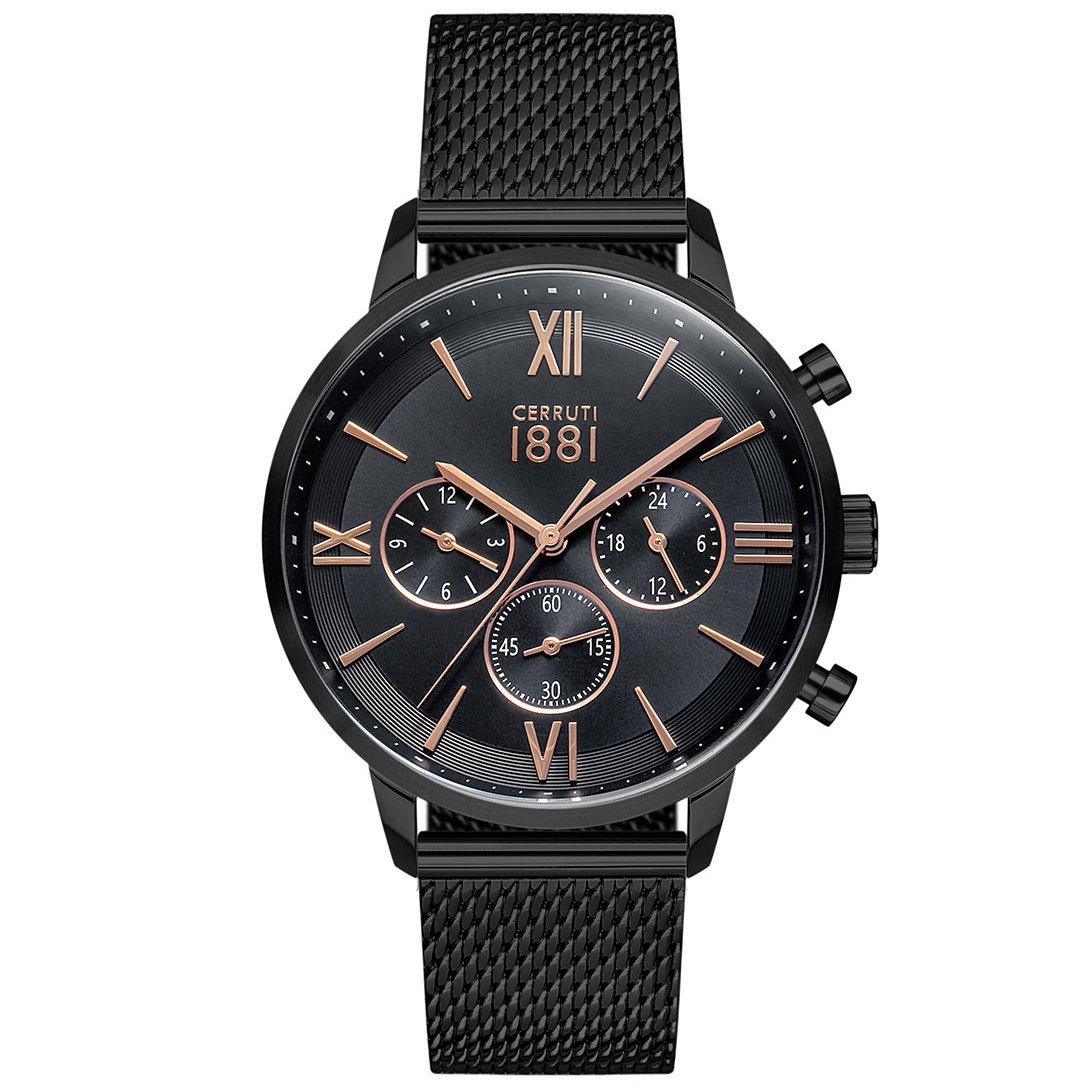 Cerruti 1881 Men's Watch Black CRA23406