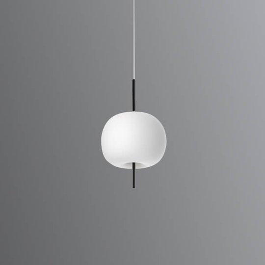 Kundalini Kushi - LED-riippuvalo musta 16 cm