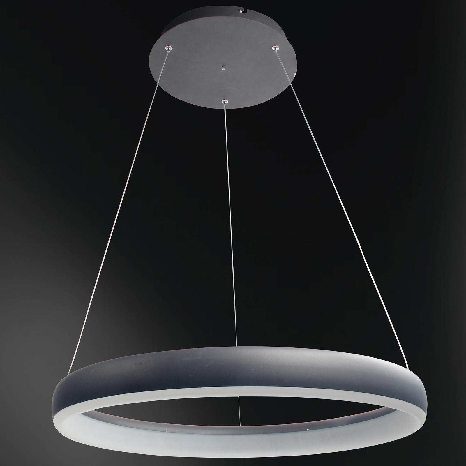 WiZ Clint LED-riippuvalaisin musta, Ø 60 cm