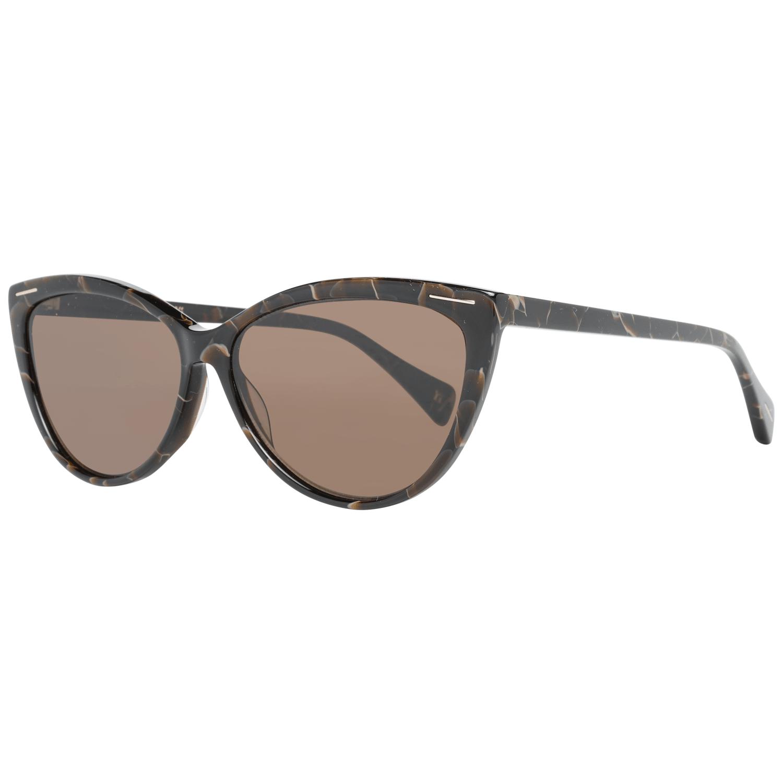 Yohji Yamamoto Women's Sunglasses Brown YS5001 58134