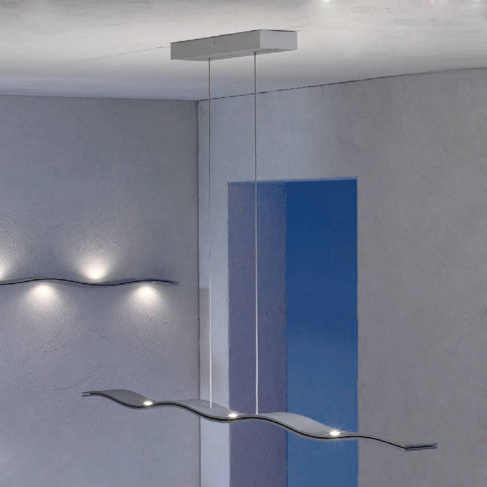 Escale Fluid, aaltomainen LED-riippuvalaisin 100cm