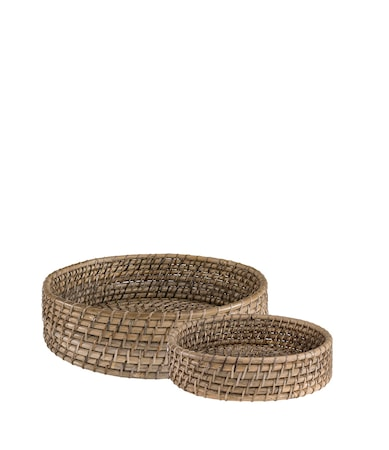 AMAZON breadbasket 2-set natural