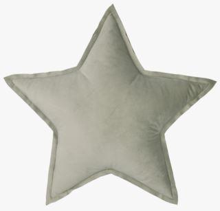 Stjerne Velour koristetyyny vaaleanvihreä