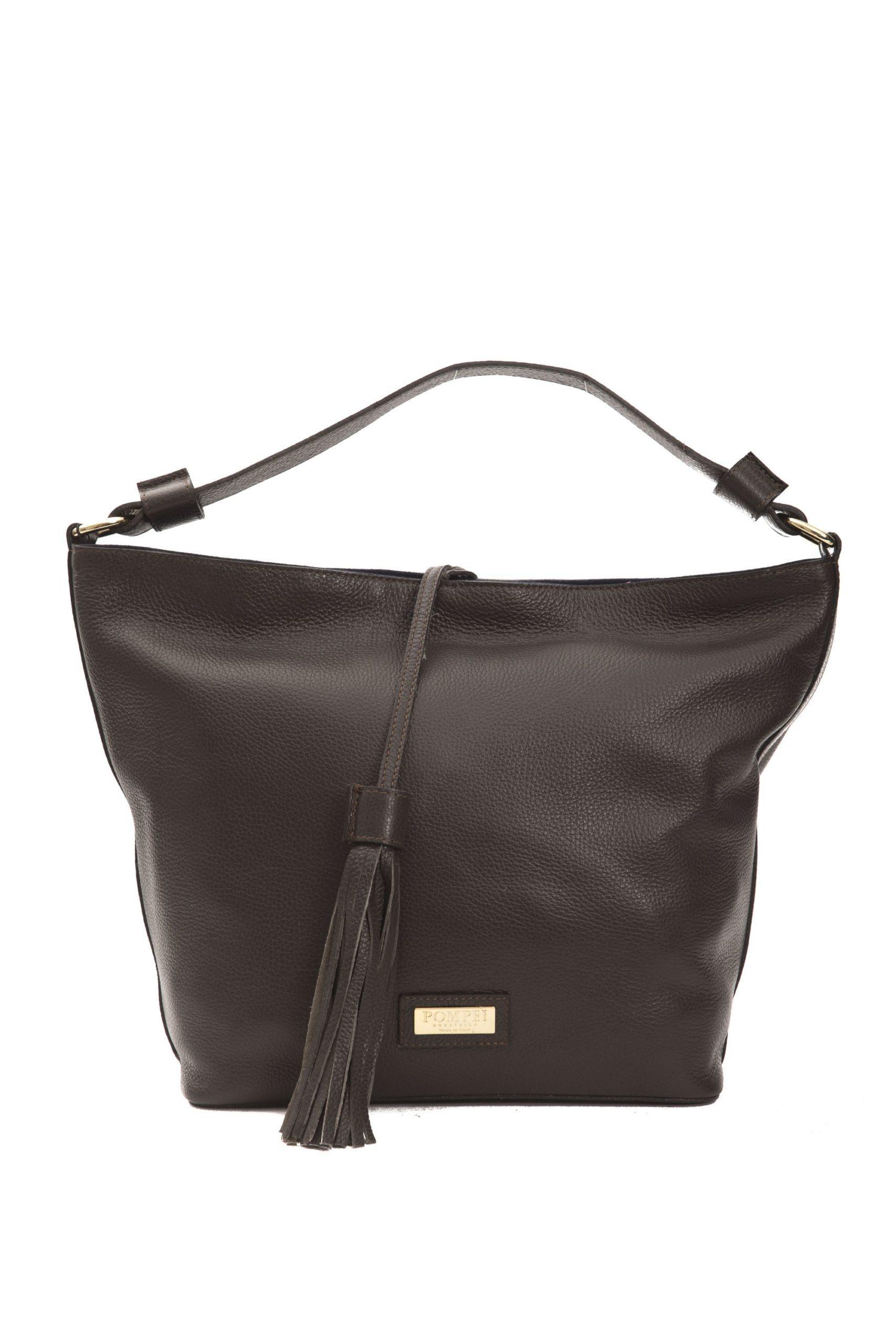 Pompei Donatella Women's Cioccolato Shoulder Bag Brown PO1005059