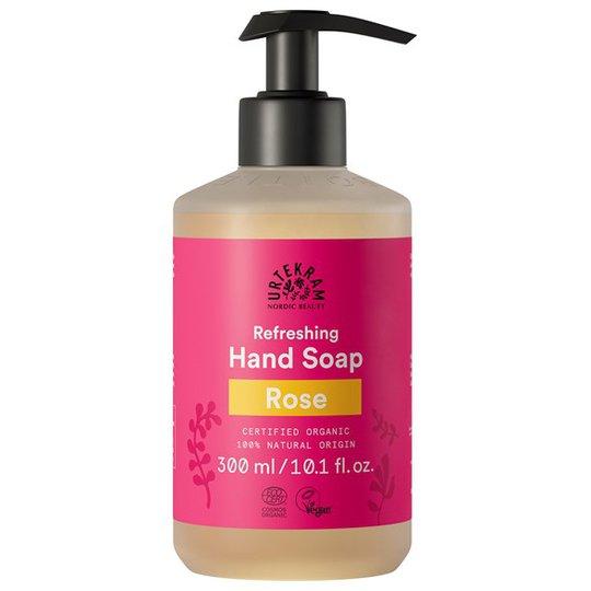 Urtekram Nordic Beauty Rose Hand Soap, 300 ml