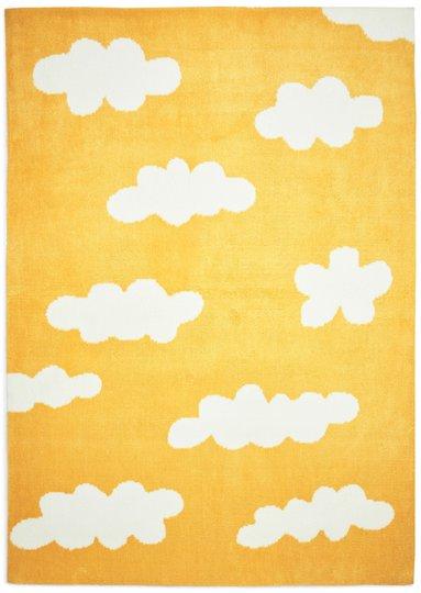 Alice & Fox Teppe Jacquard Shaggy Medium, Yellow
