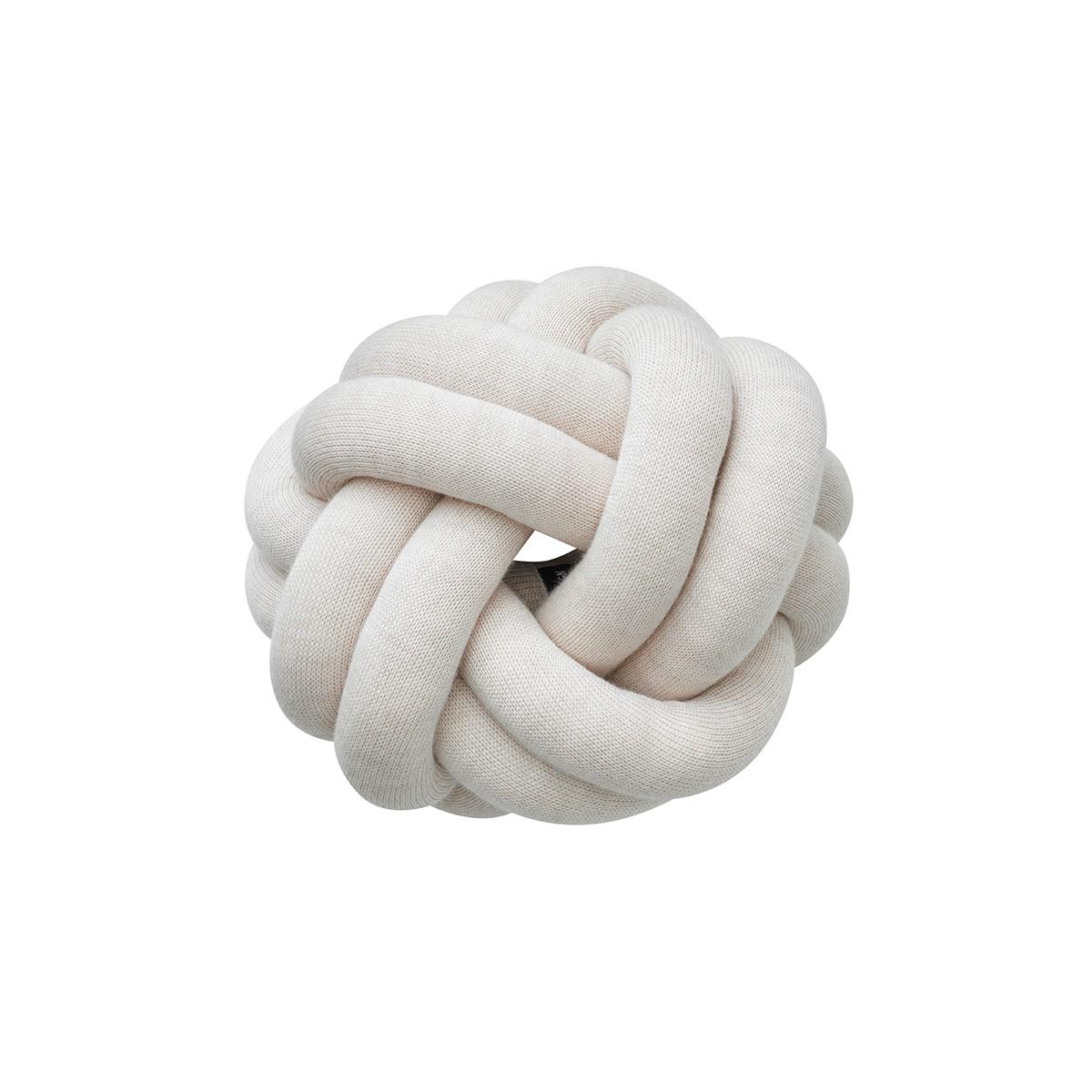Design House Stockholm I Knot Cushion | Cream