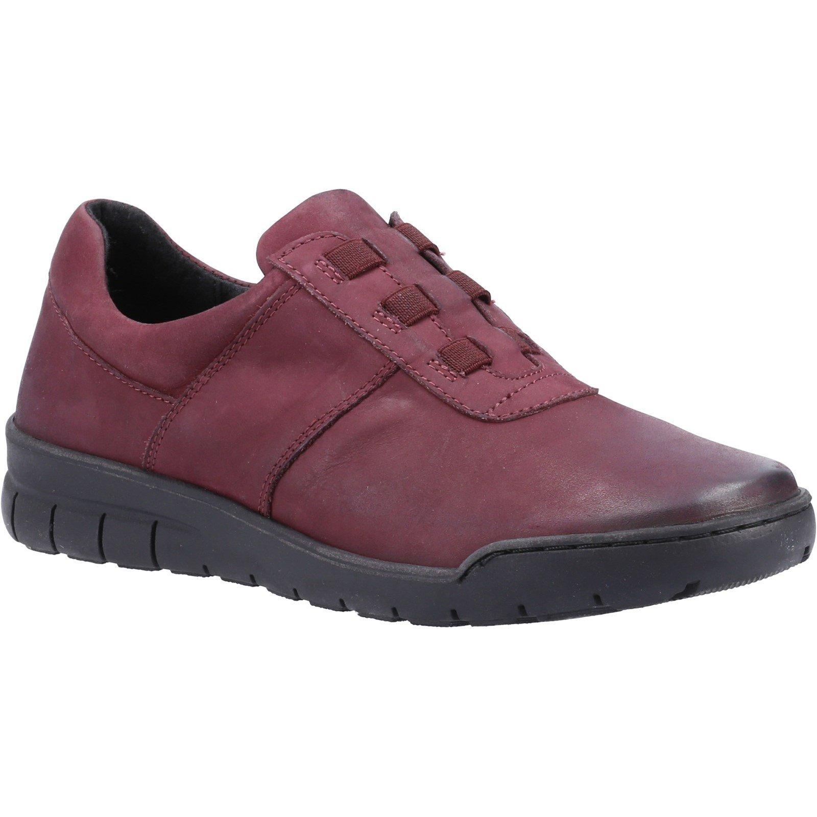 Fleet & Foster Women's Cristianos Slip On Shoe Various Colours 33015 - Bordo 3