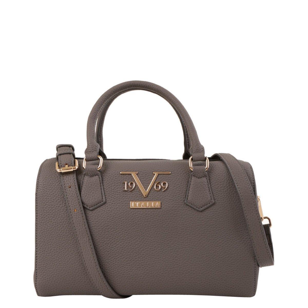 19v69 Italia Women's Handbag Various Colours 319009 - grey UNICA