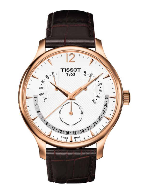 Tissot Tradition Perpetual Calender T063.637.36.037.00