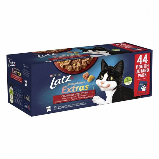 Latz Sensations Extras Countryside Selection Multipack 44x85 g