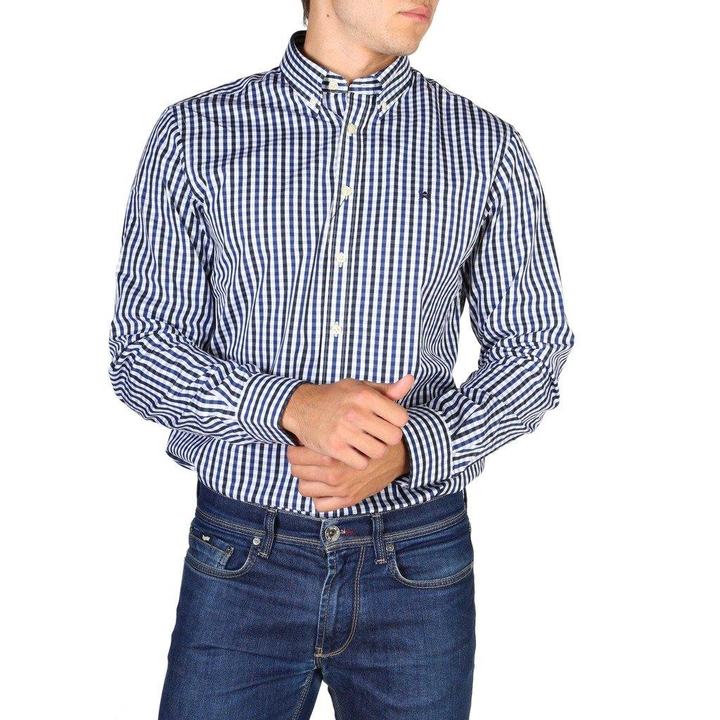 Hackett Men's Shirt Blue HM305379 - blue S