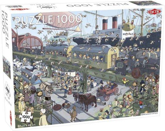 Tactic Puslespill Børnebanden Industri 1000 brikker