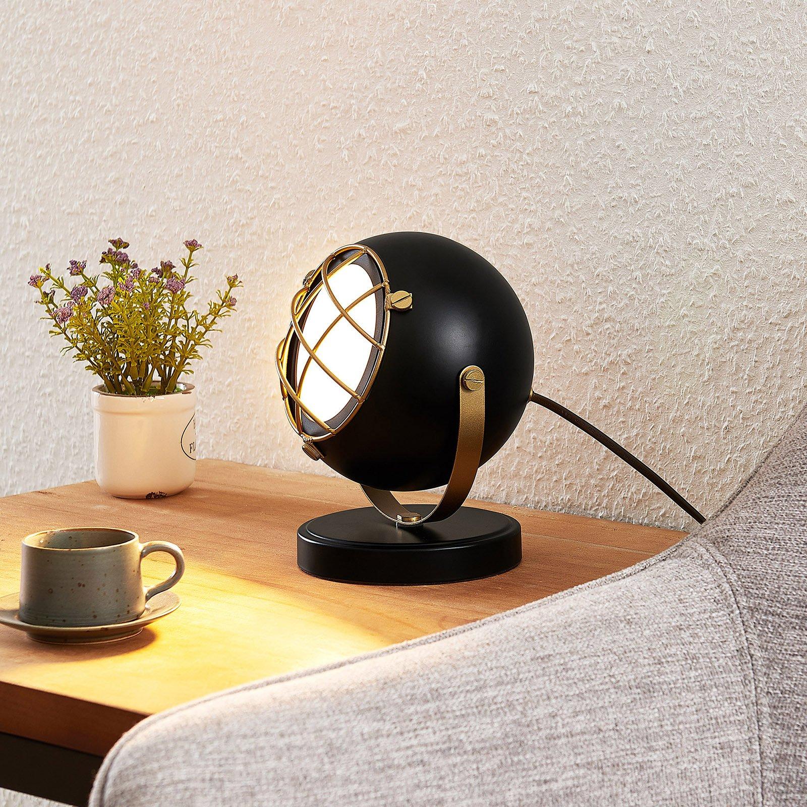 Lindby Dawid LED-bordlampe, gull