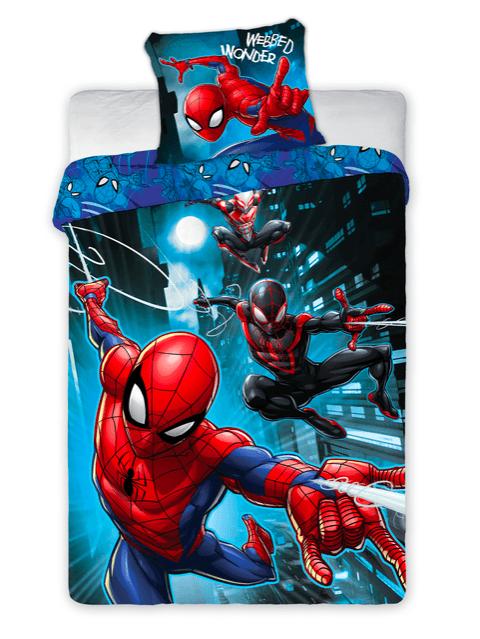 Bed Linen - Adult Size 140 x 200 cm - Spiderman (100003)