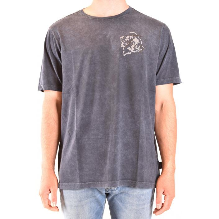 Fay Men's T-Shirt Blue 180008 - blue 3XL