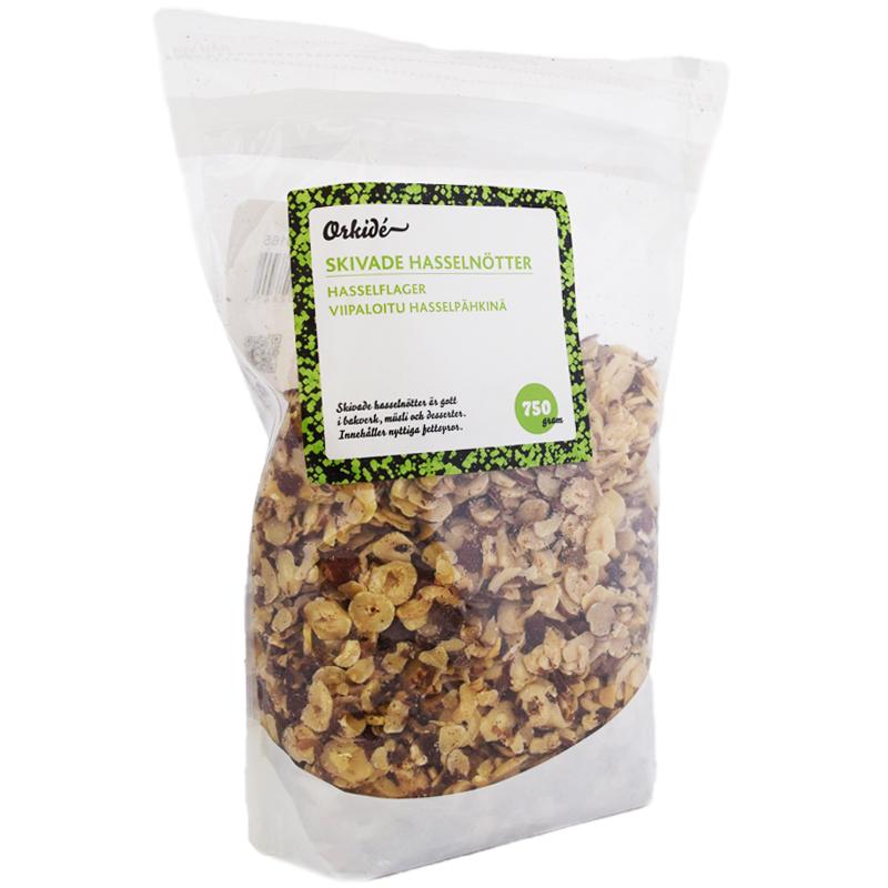 Hasselnötter Skivade 750g - 25% rabatt