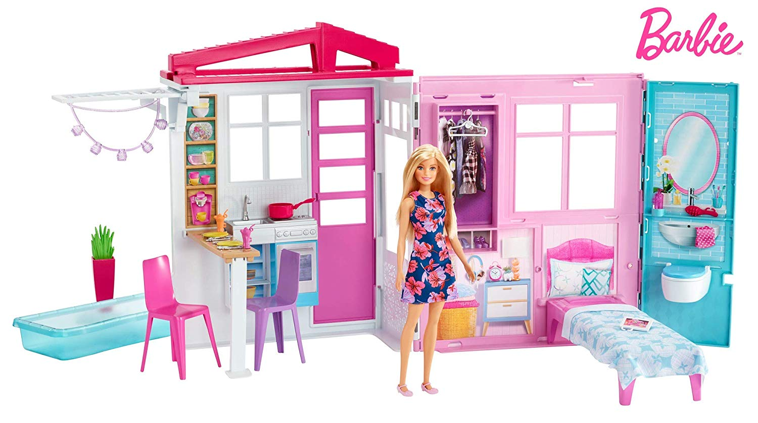 Barbie - House and Doll (FXG55)
