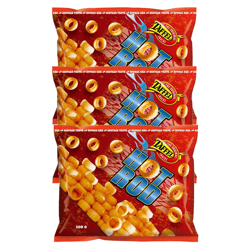 Taffel Hot Rod 3kpl - 22% alennus