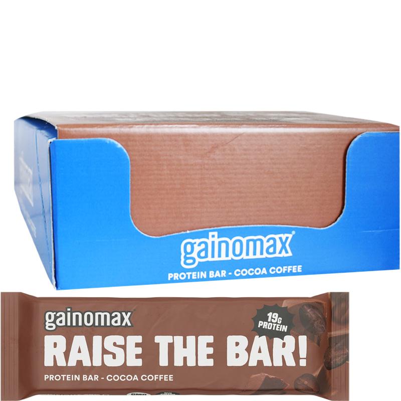 """Laatikollinen Proteiinipatukoita """"Cocoa Coffee"""" 15 x 60g - 60% alennus"""