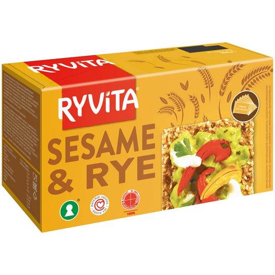 Knäckebröd Sesame & Rye - 15% rabatt